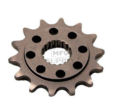 JTF284-14 - Honda ATV 14 tooth front sprocket. Fits 04-06 TRX450R.