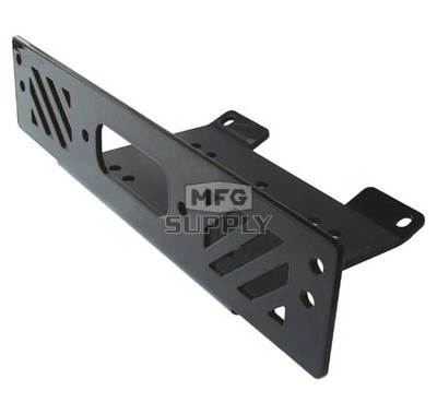 1615SW - Winch Mount Plate for Polaris Ranger UTVs.