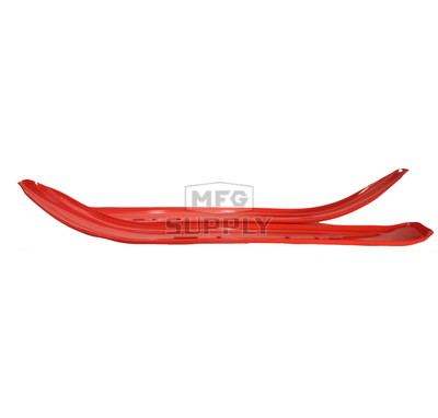 "501-603-82 - Yamaha Ski Skins 3/16"" Red. (Pair). Fits Yamaha 4-1/2"" Narrow Ski"