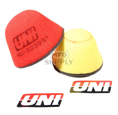 NU-3229ST - Uni-Filter Two-Stage Air Filter. For Yamaha 93-01 YZ80