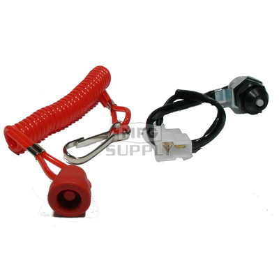 01-112 - Kill Switch. Fits most 83-02 Polaris, 79-99 Ski-Doo, and 79-03 Yamaha Snowmobiles. Closed circuit with cap off.