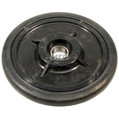 "04-0634-20 - Polaris 6.380"" (162mm) Black Idler Wheel with 6004 series bearing (20mm ID)"