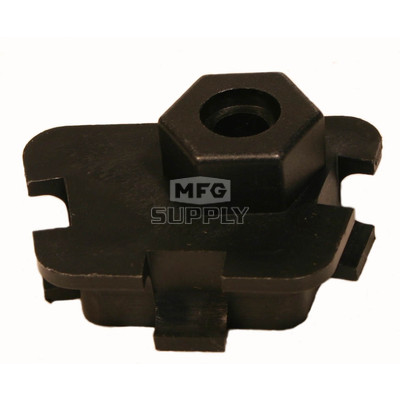 04-298 - RH Ski-Doo & Moto-Ski Spring Adjustment Block (1 pc). Slide Suspension Models Only.