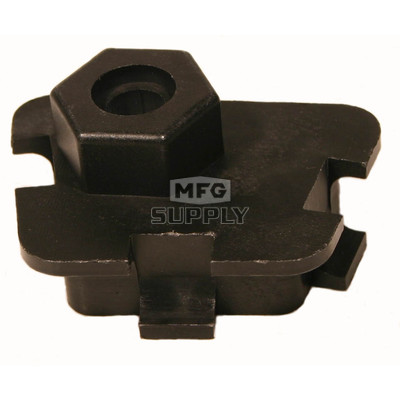 04-299 - LH Ski-Doo & Moto-Ski Spring Adjustment Block (1 pc). Slide Suspension models only.