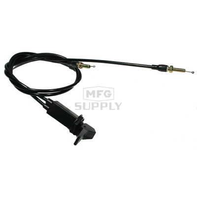 TM38 Dual Polaris Choke Cable. 99-06 440 L/C and 500 Snowmobiles.