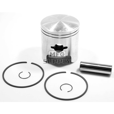 """09-699-4  - OEM Style Piston assembly. Arctic Cat 530cc twin. .040"""" oversized."""