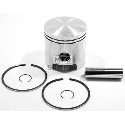 09-700-2 - OEM Style Piston Assembly,  71-95 Polaris 244cc single & 488cc twin. .020 oversize