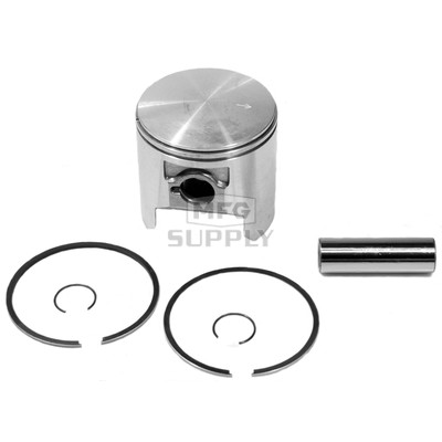 09-741-2 - OEM Style Piston Assembly, 79-newer Ski-Doo 270 single and 497 twin. .020 oversize.
