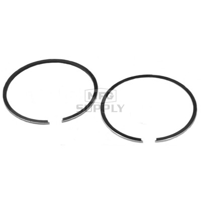 R09-741-1 - OEM Style Piston Rings, 79-newer Ski-Doo 270 single and 497 twin. .010 oversized