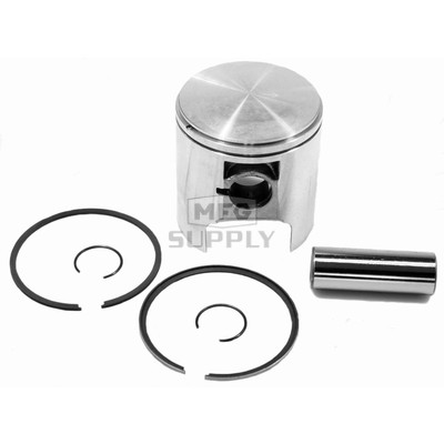09-751 - OEM Style Piston assembly for 80-06 Ski-Doo 369/380 twin. Std size.