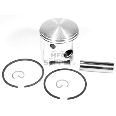 09-759-2 - OEM Style Piston assembly. 74-79 Ski-Doo & Moto-Ski 440 twin. .020 oversize. Right Piston