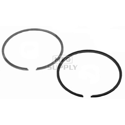 R09-761-1 - OEM Style Piston Rings for 78-95 Ski-Doo 437 & 463 twin. .010 oversize.