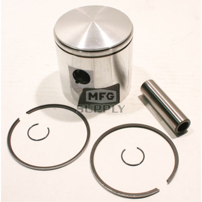 09-762 - OEM Style Piston assembly. 69-82 Ski-Doo 640cc twin. Left Piston. Std size.