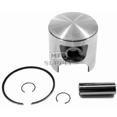 09-772-4 - OEM Style Piston assembly 89-newer Ski-Doo 580, 583 & 617 twin. .040 oversize.