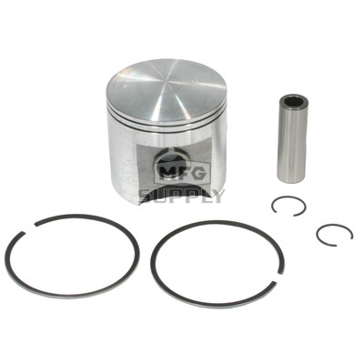 .020 oversized Piston Assembly for 77-81 Yamaha Enticer 250 Snowmobiles.
