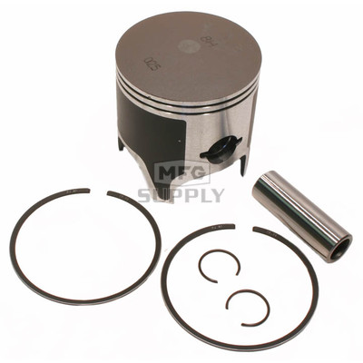 09-813-1 - OEM Style Piston assembly. 84-06 Yamaha 485 twin. .010 oversized.
