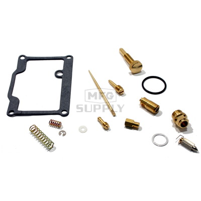 Complete ATV Carburetor Rebuild Kit for many 97-03 Polaris ATVs with 400cc engine (including Scrambler)