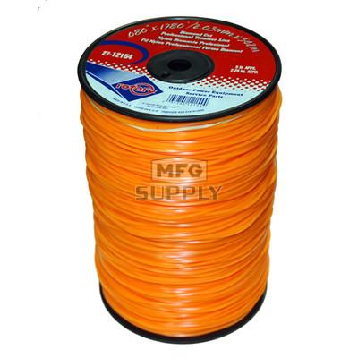 27-12154-Orange Diamond Cut Professional Trimmer Line