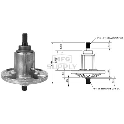 10-12495 - Spindle Assembly for John Deere