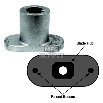 17-14581 - Blade Adapter for MTD