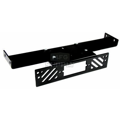 1618SW - Winch Mount Plate for newer Polaris Ranger UTVs