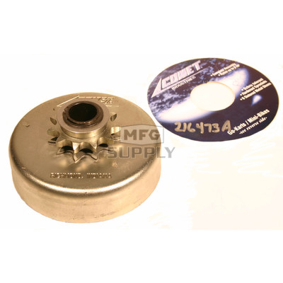 """216473A - Comet SCS 400 Series. 40/41 Chain. 3/4"""" Bore, 11 teeth."""