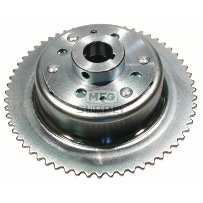 "AZ2267-OD - 4-1/2"" Drums with Riveted Hubs 60 Tooth Sprocket - Machined OD"