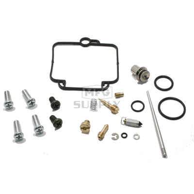 Complete ATV Carburetor Rebuild Kit for many 01-13 Polaris ATVs with 500cc engine