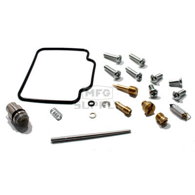 Complete ATV Carburetor Rebuild Kit for 99-00 Polaris Sportsman 335, Worker 335