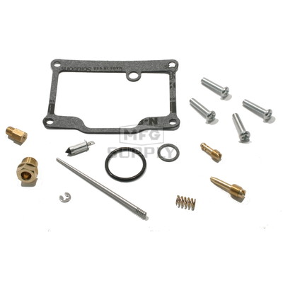 Complete ATV Carburetor Rebuild Kit for many 90-93 Polaris ATVs with 350cc engine (1003-0006)