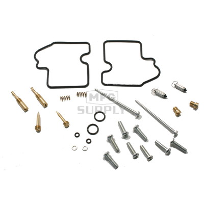 Complete ATV Carburetor Rebuild Kit for 04-06 Arctic Cat 650 V-2 Auto