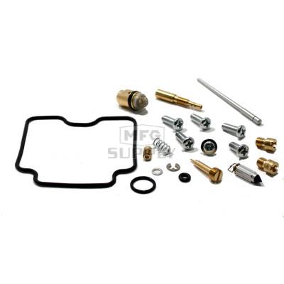 Complete ATV Carburetor Rebuild Kit for 04-08 Arctic Cat 400 DVX, 03-06 Kawasaki KFX400, 03-08 Suzuki LT-Z400