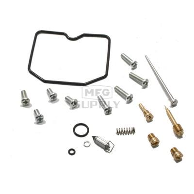 Complete ATV Carburetor Rebuild Kit for 2002 Arctic Cat 375 2x4/4x4 Auto