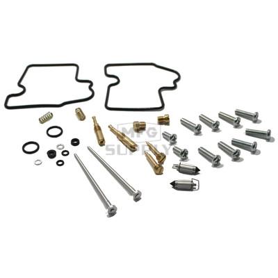 Complete ATV Carburetor Rebuild Kit for 02-03/05-13 Kawasaki KVF650 Brute Force & Prairie