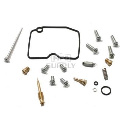 Complete ATV Carburetor Rebuild Kit for 99-02 Kawasaki KVF400 Prairie 4x4/2x4