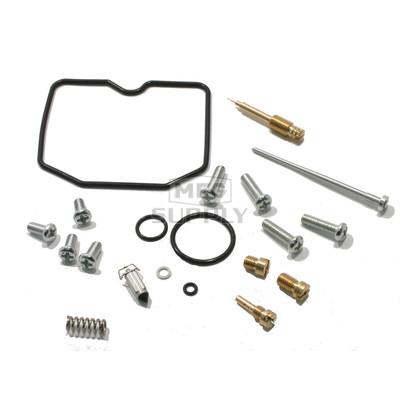 Complete ATV Carburetor Rebuild Kit for 96-04 Kawasaki KLF300B Bayou ATV