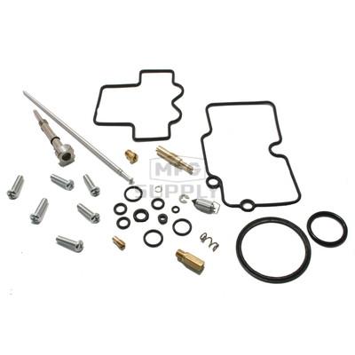 Complete ATV Carburetor Rebuild Kit for 08-14 Honda TRX450ER, 08-10 Polaris Outlaw 450