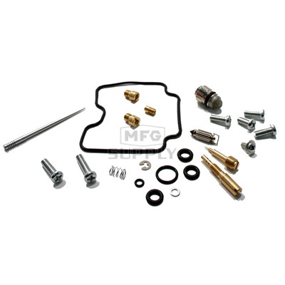 Complete ATV Carburetor Rebuild Kit for 00-12 Yamaha RFM400 Big Bear