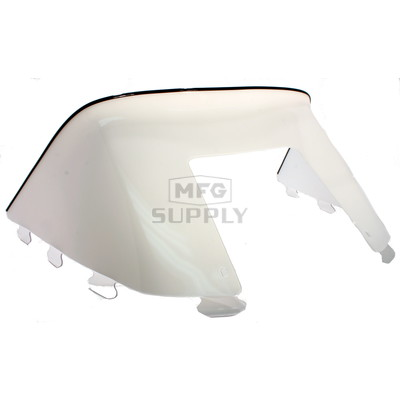 "450-233-55 - Polaris Low 9"" Windshield Solid White. Old Generation Style Hood."