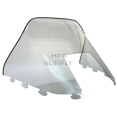 "450-234 - Polaris Standard 15-1/2"" Windshield Smoke. Old Generation Style Hood."
