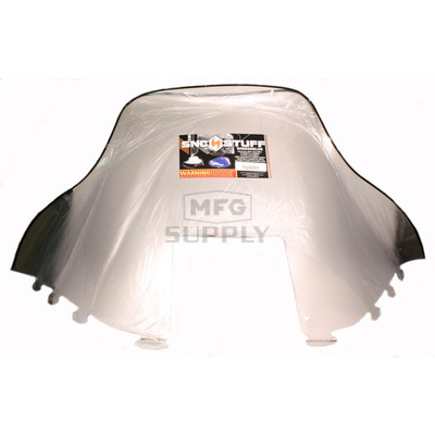 "450-235-01 - Polaris High 19-1/2"" Windshield Clear. Old Generation Style Hood."