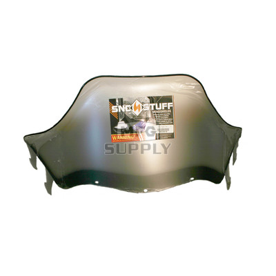 "450-239-10 - Polaris High 15"" Windshield Graphic Clear. Agressive Style Hood."