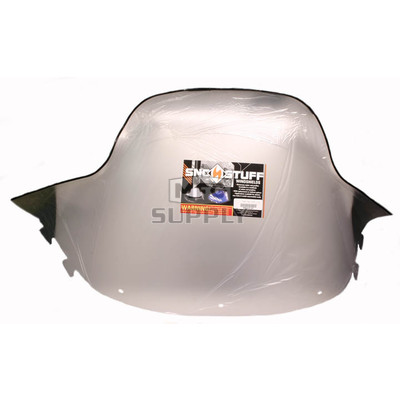 "450-241-01 - Polaris Standard 17-3/4"" Windshield  Clear. New Generation Style Hood."