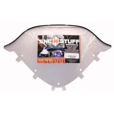 450-260-01 - Polaris Low Smoke Windshield for many IQ chassis Snowmobiles.
