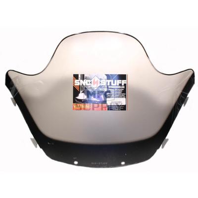 "450-644-03 - Yamaha High 13-1/2"" Black Graphics on Smoke Windshield. SX Chassis."