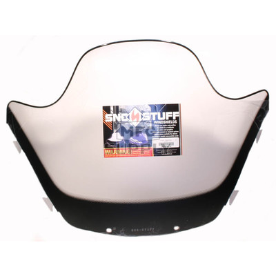 "450-644-10 - Yamaha High 13-1/2"" Black Graphics on Clear Windshield. SX Chassis."