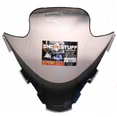 "450-650 - Yamaha high 15"" Black Graphics on Clear Windshield. 02-05 SX Viper/Venom"