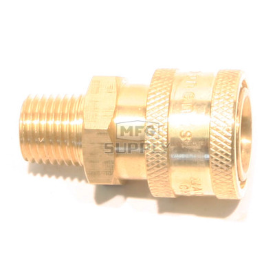 """48-9419 - 1/4"""" MPT Socket Brass"""