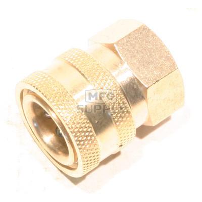 "48-9422 - Brass Socket  for Pressure Washer  3/8"" FPT"
