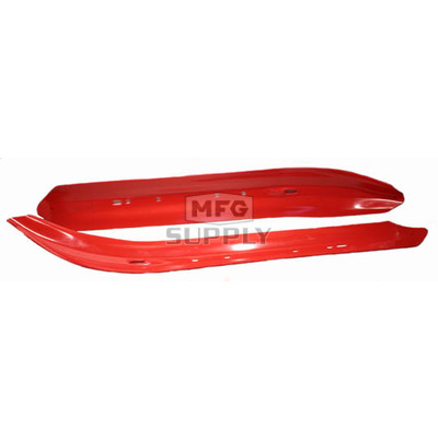499-600-82 - Yamaha Ski Insert Red. (Pair)